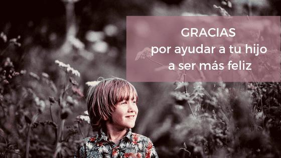 Gracias por enseñar gratitud a tus hijos