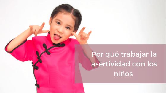 Asertividad niños